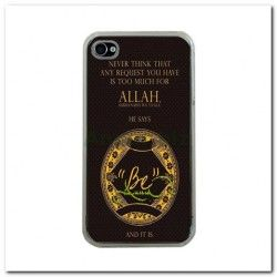 be_Apple iPhone 4 Case (Clear)