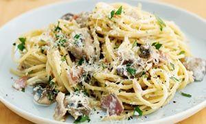 Μακαρόνια με μανιτάρια του Jamie Oliver