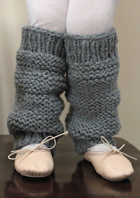 Leg Warmers Knitting Pattern Circular Needles : Little Girls Knit Legwarmers ... no sewign, but I need to remeber sewi...