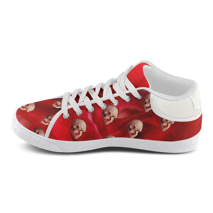 Funny Skulls and Red Rose Women