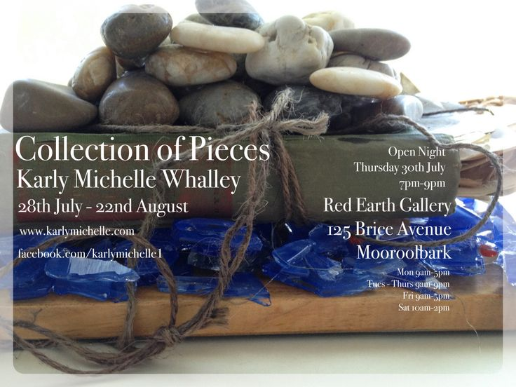 I have a new exhibition opening late July…..A Collection of Pieces invites you into the small moments of life through a playful re-claiming of found objects, altered books, stitching and other mixed media pieces.A Collection of PiecesKarly Michelle WhalleyTue 28th July - Sun 23rd Aug Open Night Thurs 30th 7pm-9pmRed Earth Gallery125 Brice Avenue, Mooroolbark