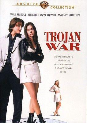 Trojan War (Jennifer Love Hewitt Will Friedle) New DVD Region 4