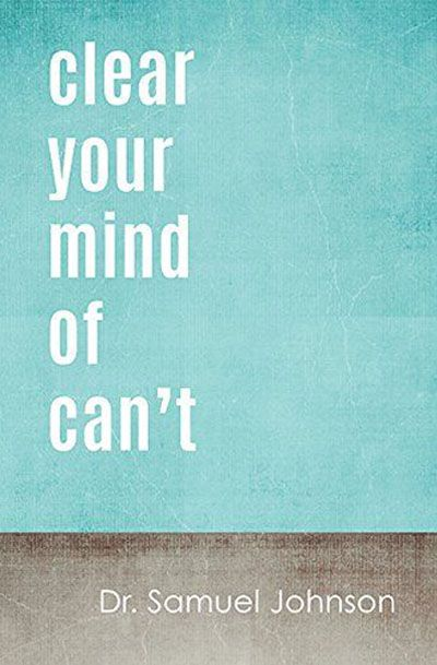 Lovely Clusters Boutique: Clear Your Mind Of Can't, motivational poster