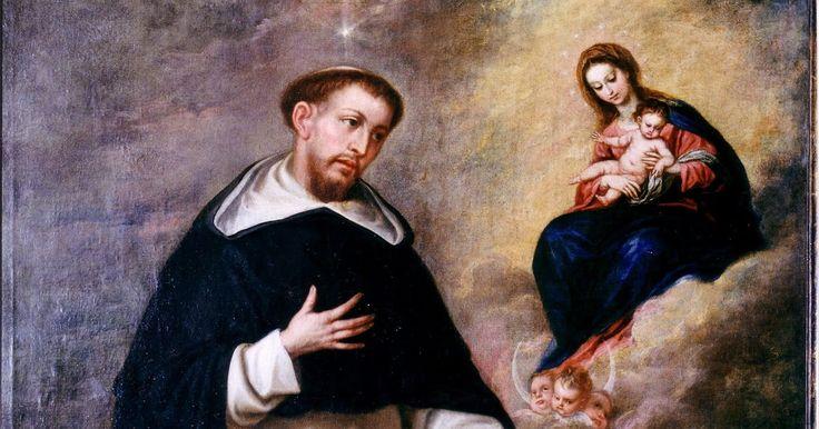 Santoral de hoy - Domingo de Guzmán, Santo Sacerdote y Fundador de los Dominicos (+1221 dC) - 08/08 catholikblog.blogspot.com