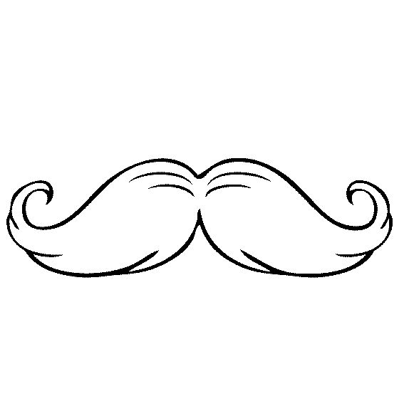 coloring pages of mustaches - mustache coloring pages 01 baby shower pinterest