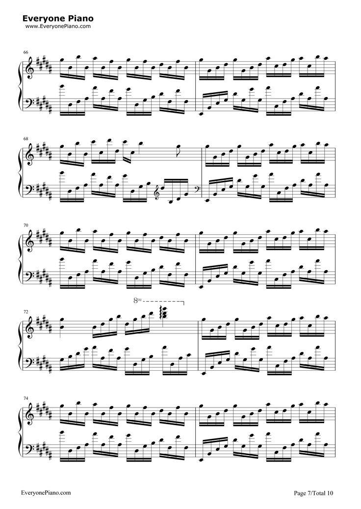 flower dance piano sheet pdf