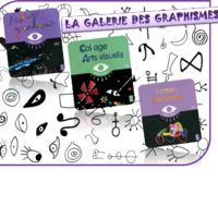 Galerie de graphismes, collages et actions plastiques