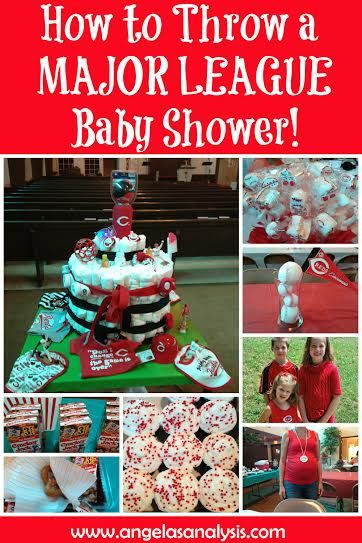 how to throw a major league baby shower a baby shower of your