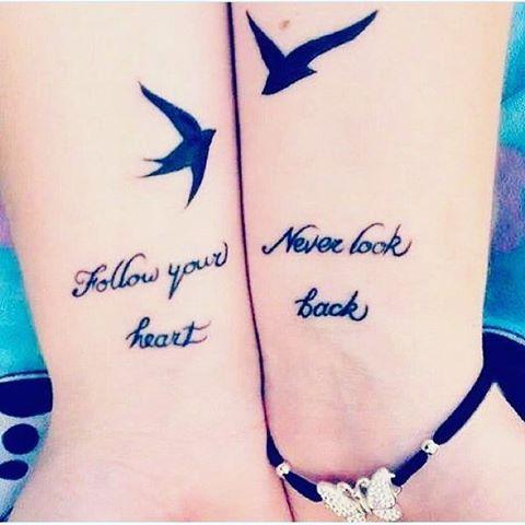 Los 31 tatuajes que te engancharán a tu mejor amiga por siempre y para siempre