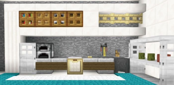マインクラフトで家具 内装のアイディア100個まとめてみた 家の