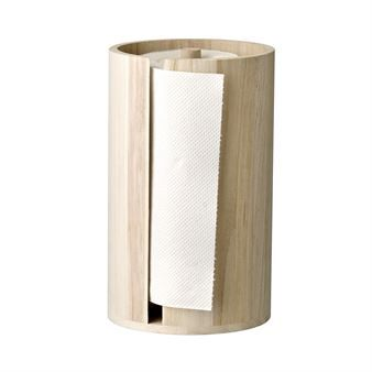 Bloomingville paper holder wood make such a mundane thing as the paper roll more glamorous. It has a Scandinavian design in wood which suits every kitchen and table setting. Perfect to always have on the table so you´re ready when the disaster strikes!