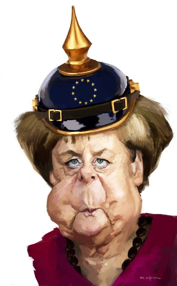 """Merkel is rushing Germany and Europe headlong to disaster. She will go down in history as the worst German Chancellor since Adolf Hitler.  """"Angela Merkel under more pressure over refugee policy as it is revealed migrants committed 142,500 crimes in Germany during the first six months of 2016,"""