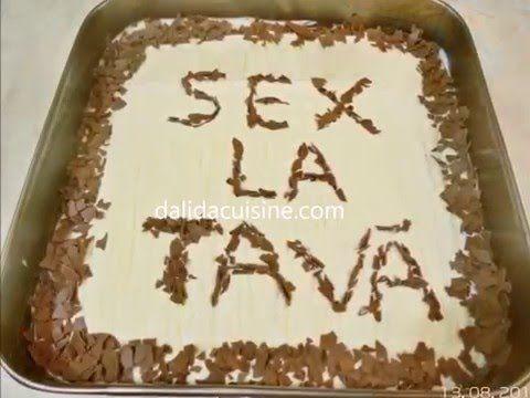 Prăjitura Sex La Tavă ⋆ Dalida Cuisine