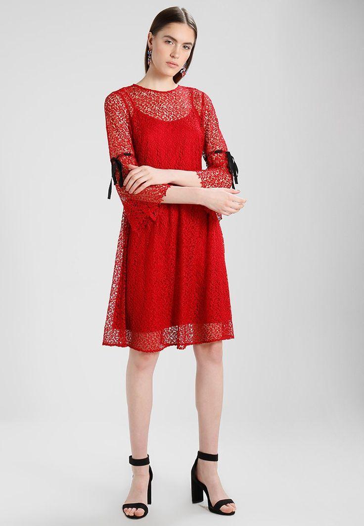 mint&berry Sukienka letnia - chinese red - Zalando.pl