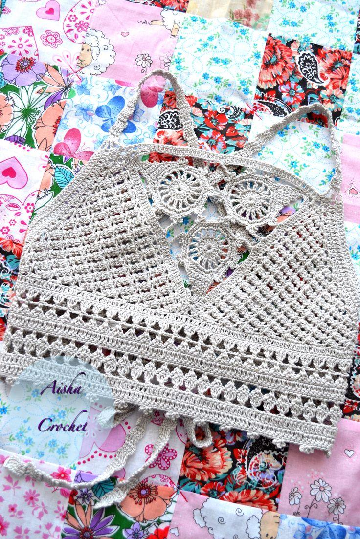Crochet top, gypsy stile boho