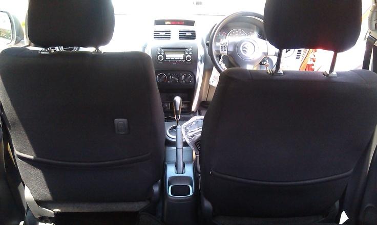 interior - front seat