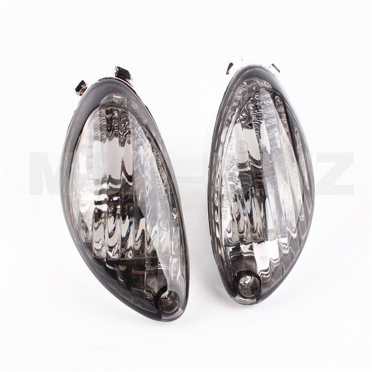 Motorcycle Rear Turn Signals Lens For Suzuki Hayabusa GSXR 1300 2008 - 2010 08 09 10 Smoke Indicator Lenses Light GSXR1300