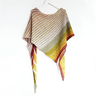 On the Spice Market | Knitting Pattern. Fingering weight shawl designed for…