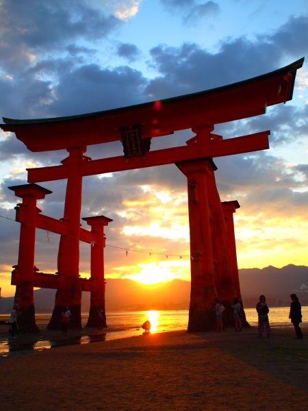 Itsukushima, Hiroshima, Japan