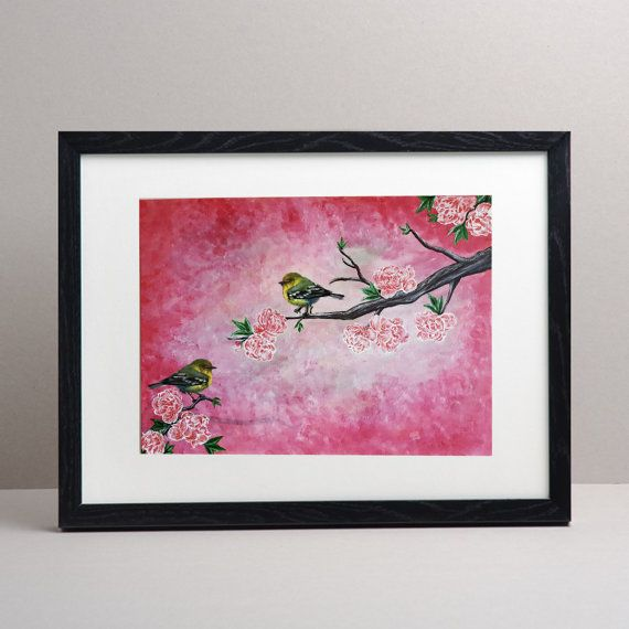 Hey, I found this really awesome Etsy listing at https://www.etsy.com/uk/listing/459465598/cherry-blossom-painting-beautiful