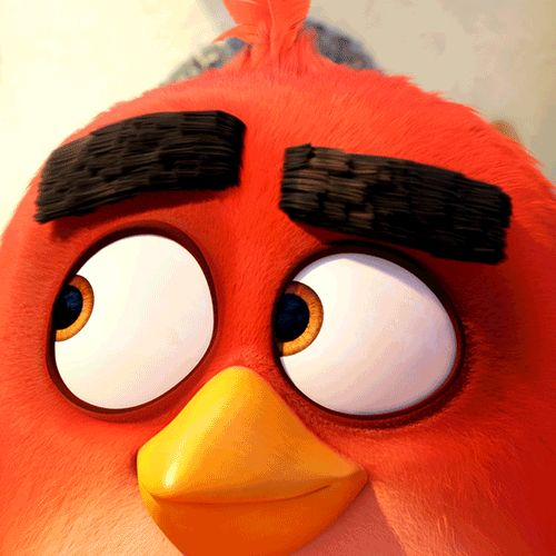 Angry Birds dance red eyebrows angry birds movie | Facial ...