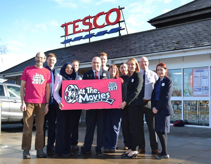 ILKLEY Carnival has announced the Tesco store in Ilkley will be the main sponsor of the 2017 May Day Bank Holiday event.