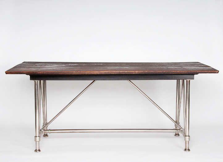 Amazing Otto Wagner straight desk