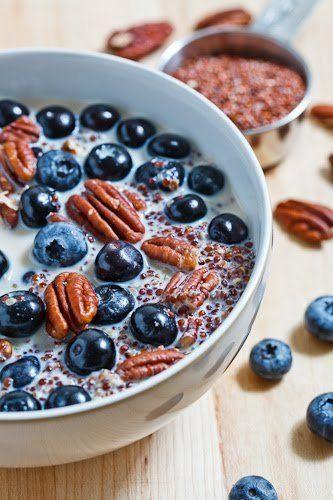 Quinoa porridge, Pecans and Quinoa on Pinterest