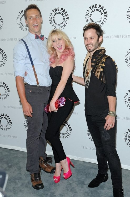 Actors Sean Hemeon, Brad Bell and Alessandra Torresani attend the 'Husbands' season two premiere at The Paley Center for Media on August 13, 2012 in Beverly Hills, California. © Kevin Parry Photography