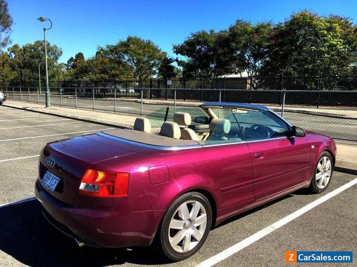 Audi A4 Convertible Audi A4 Forsale Australia Audi A4 Convertible Audi A4 Audi