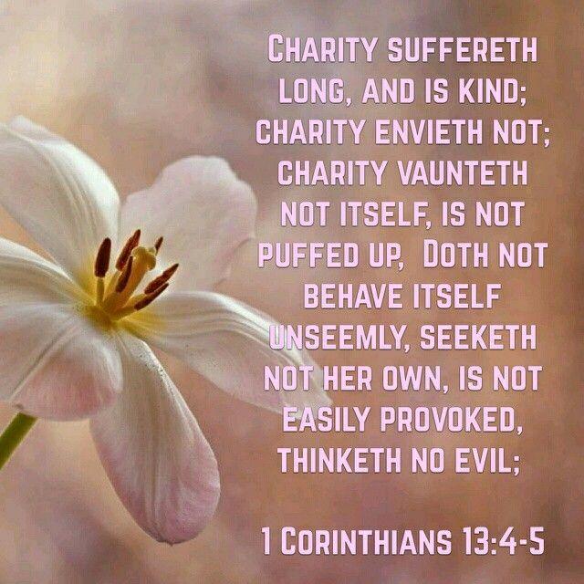 1 Corinthians 13:4-5 KJV