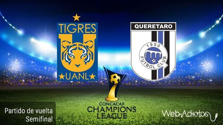 Tigres vs Querétaro, Semifinal Concachampions ¡En vivo por internet! - https://webadictos.com/2016/04/05/tigres-vs-queretaro-semifinal-concachampions-2016/?utm_source=PN&utm_medium=Pinterest&utm_campaign=PN%2Bposts