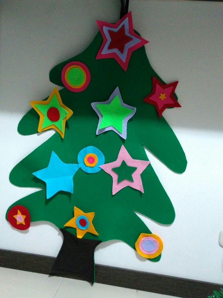 Árbol de Navidad para Benjamín.