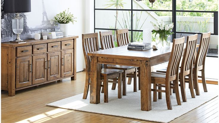 Woolshed 7 Piece Dining Suite Dining room Pinterest  : f2de818bb5308dff3c51b13763b9238d from www.pinterest.com size 736 x 413 jpeg 72kB