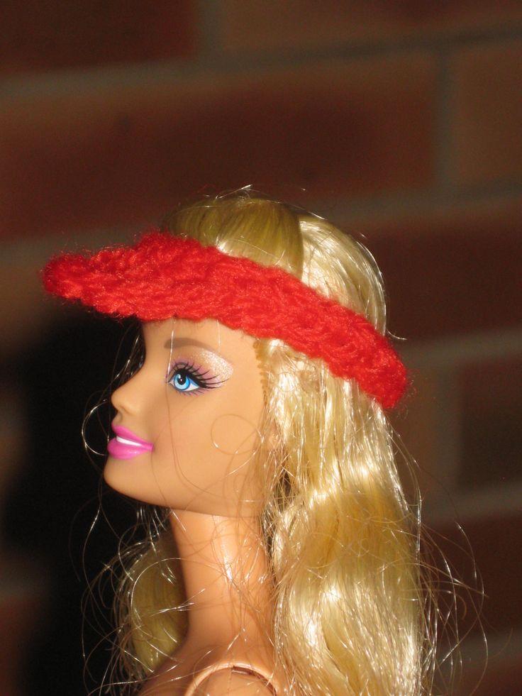 visière barbie http://tricotdamandine.over-blog.com/tag/chapeaux%20barbie%20-%20tutos/