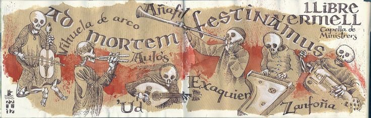 "Ladrones de Cuadernos: ""Llibre Vermell"" Capella de Ministrers"