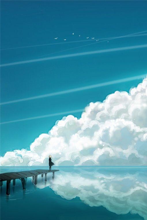 'alone' concept art