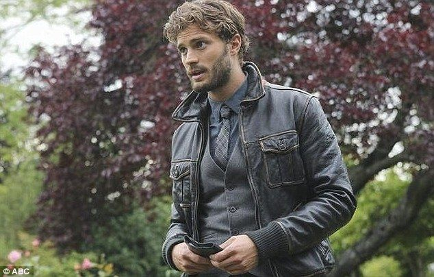 The hunks-man: Dornan in the ABC hit show, Once Upon a Time as the Huntsman