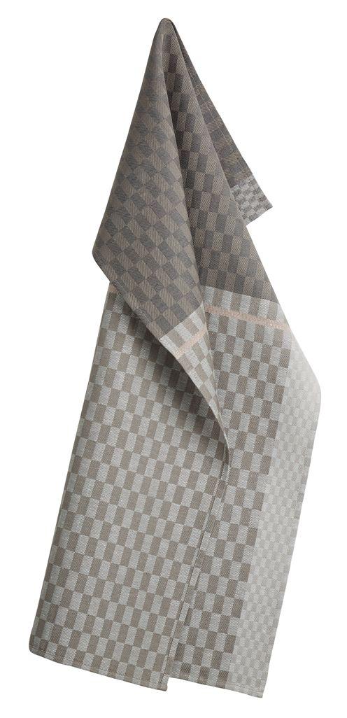 Colours oppvaskhåndkle 2pk grå - Georg Jensen Damask