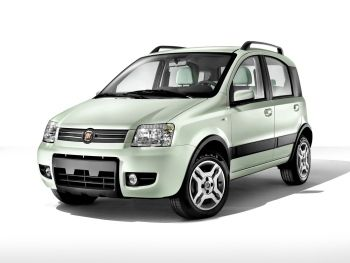 Fiat Panda Climbing Natural Power (169) '2007–09