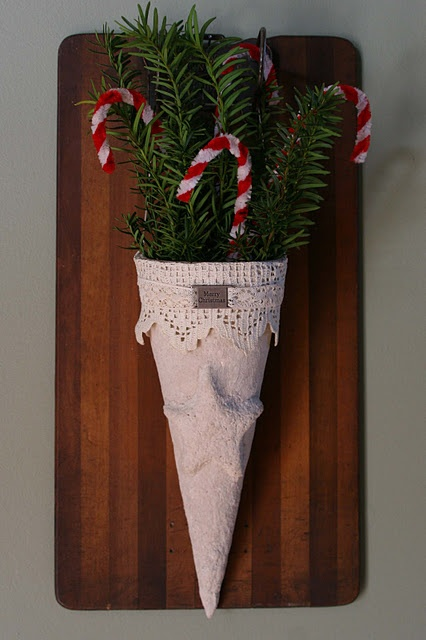 17 best images about paper cone inspiration on pinterest for Cardboard cones for crafts