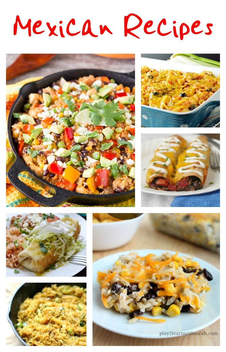 Are you craving Mexican food or looking for a Mexican dish for Cinco de Mayo, then check out these amazing Mexican recipes. Featuring Mexican quinoa skillet dinner, Mexican chicken spaghetti casserole, black bean beet enchiladas, shredded beef chimichangas, Mexican spaghetti squash hash browns and Mexican casserole.