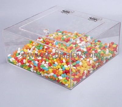 Factory direct sale acrylic candy box food display counter acrylic case FD-079