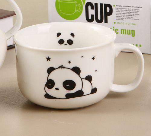 Kawaii Blushing Panda Mugs / Cups