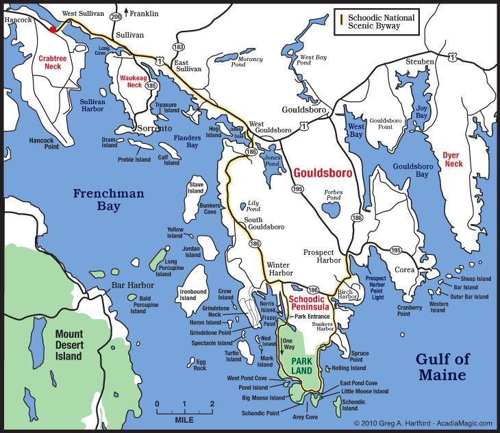11 best Acadia National Park Maps images on Pinterest Acadia