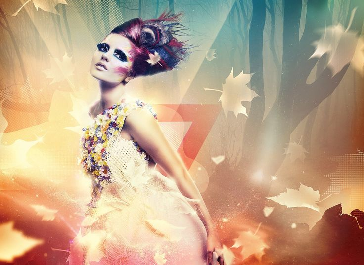 Create a bit of a fashion look in your photographs: http://www.digitalartsonline.co.uk/tutorials/photoshop/create-beautiful-lighting-effects/