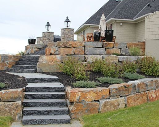 51 really cool retaining wall ideas in 2020 farmhouse on inspiring trends front yard landscaping ideas minimal budget id=26246