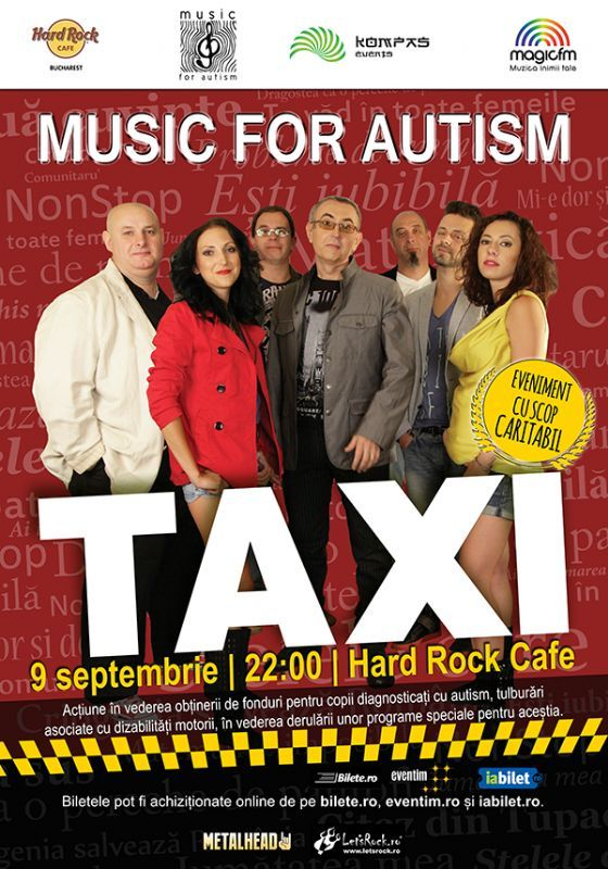 TAXI - Music For Autism - 09 Sept 2016