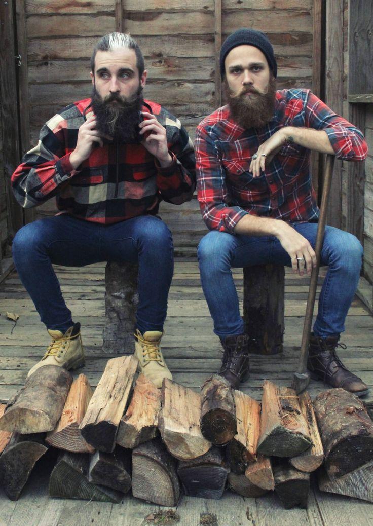 thegaybeards:  Lumber ain't got jack on us. #thegaybeards