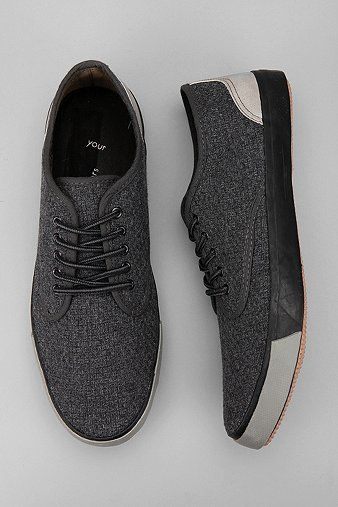 Your Neighbors Wool Trainer . shoes . menswear